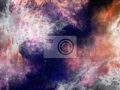 Nebula Raum Hintergrund 2