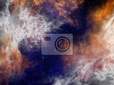 Nebula Raum Hintergrund