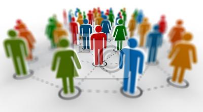 Bild Netzwerk-Community