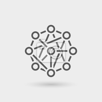 Bild Netzwerk-Symbol Hintergrund