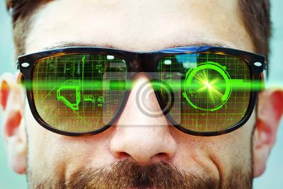 Neue Technologie - Datenbrille
