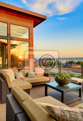 Bild Neues Haus mit Patio und Sunset View