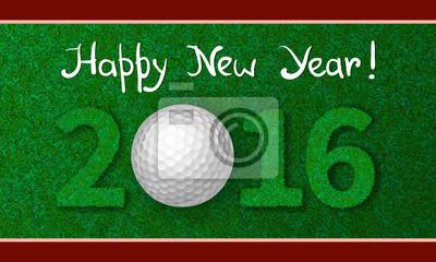 Neues Jahr 2016 Grusskarte