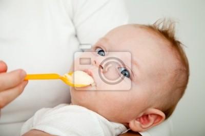 Bild Neugeborenen Sohn weigert zu essen