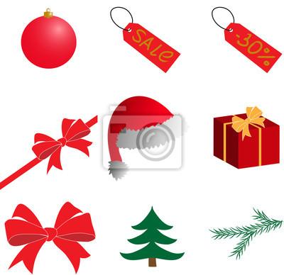 Weihnachten Bilder Clipart.Bild Neujahr Weihnachten Clipart Vector