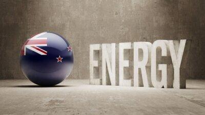 Neuseeland. Energiekonzept.
