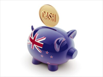 Neuseeland Piggy Konzept