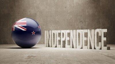 Neuseeland. Unabhängigkeitskonzept.