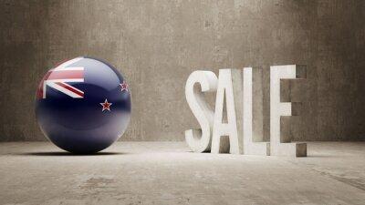 Neuseeland. Verkaufskonzept.