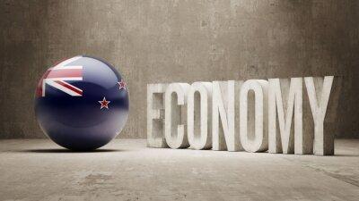 Neuseeland. Wirtschaftskonzept.