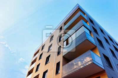Bild New modern apartment building exterior