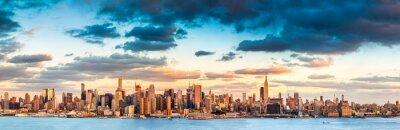 Bild New York City panorama