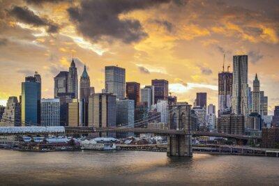 Bild New York City Skyline