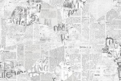 Bild Newspaper paper grunge vintage old aged texture background