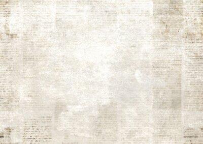 Bild Newspaper with old grunge vintage unreadable paper texture background
