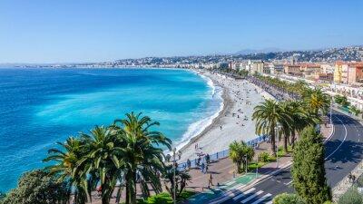 Bild Nice visit Karte Blick auf die Bucht von Engel, Frankreich