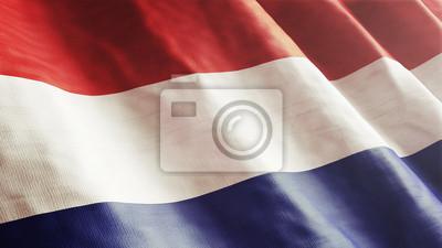 Niederlande, niederländischer Flagge