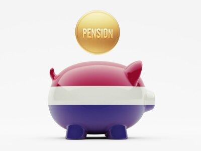 Niederlande Pension Konzept