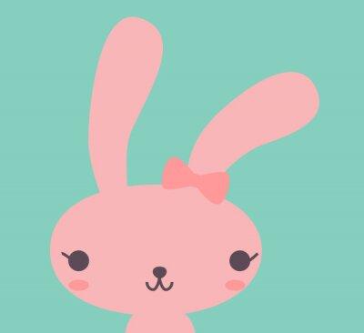 Bild Niedlichen Kaninchen - Vektor-Datei EPS10