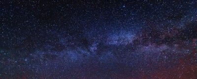 Bild Night photos in the Ukrainian Carpathian Mountains with a bright starry sky and the Milky Way