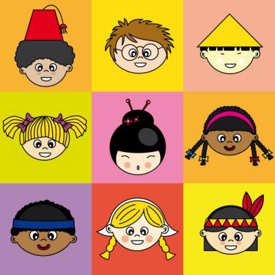 Bild Niños de diferentes etnias
