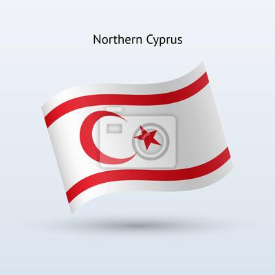Nordzypern Fahnenschwingen Form.