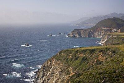 Northern California Küste.