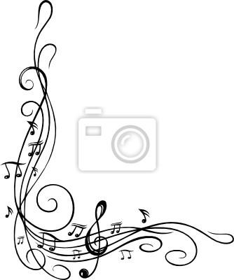 noten notenschl ssel musiknoten musik ranke gem lde f r die wand bilder entbehrung cirrus. Black Bedroom Furniture Sets. Home Design Ideas