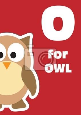 O für die Eule, ein Tier-Alphabet für Kinder