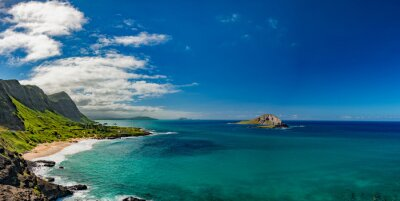 Bild Oahu Ostküste Ansichtlandschaft