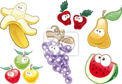 Obst-Charaktere