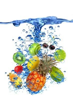 Bild Obst splash
