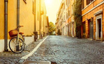 Bild Old street in Rome, Italy