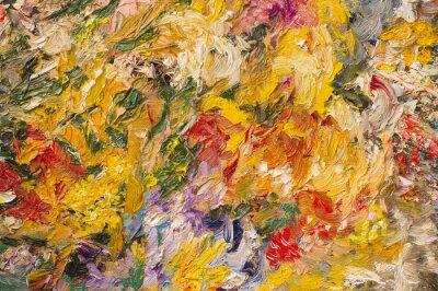 Bild Ölgemälde Hintergrund. Kunst-Konzept.