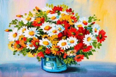 Bild Ölgemälde - Stillleben, ein Blumenstrauß