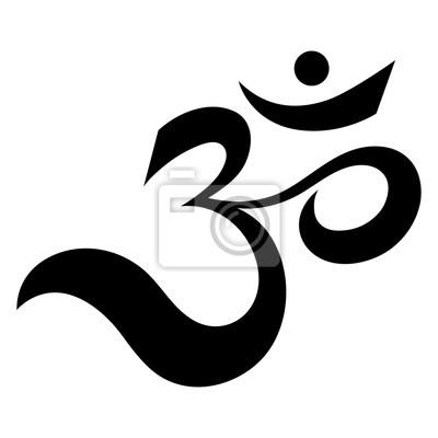 Om Oder Aum Indischen Heiligen Klang Das Symbol Der Göttlichen