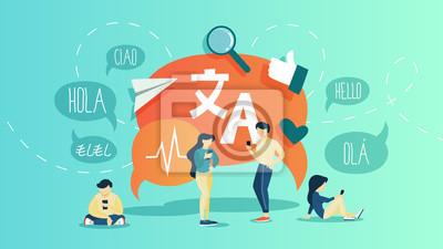 Bild Online translator. Translate foreign language fast and easy