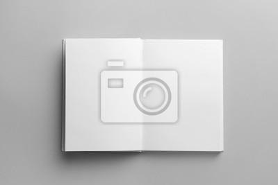 Bild Open book on light background