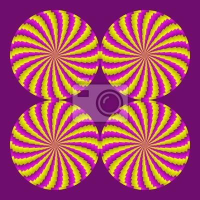 optische Täuschung Gänge