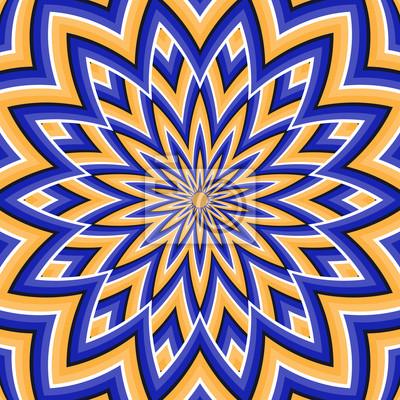 Optische Täuschung Hintergrund.
