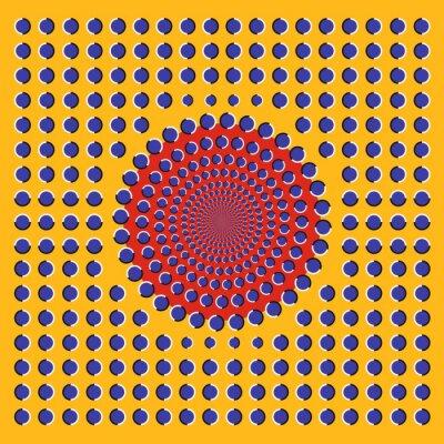 Optische Täuschung Kreise