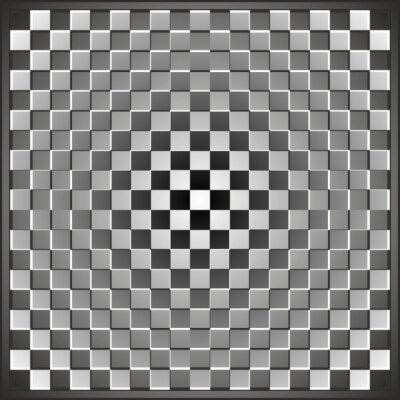 Optische Täuschung Rechteck