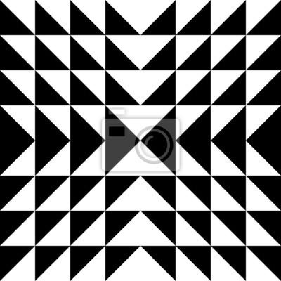 Optische Täuschung Triangles