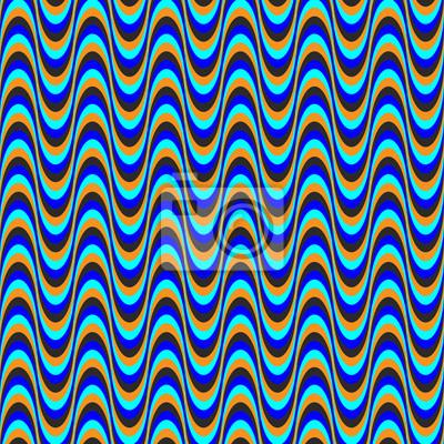 optische Täuschung Welle