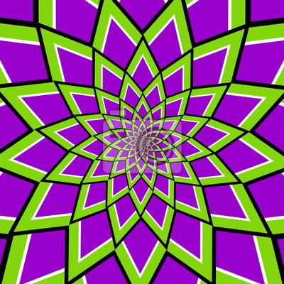 optische Täuschung Wirbel v7