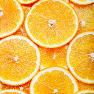 Bild Orange Scheiben Hintergrund