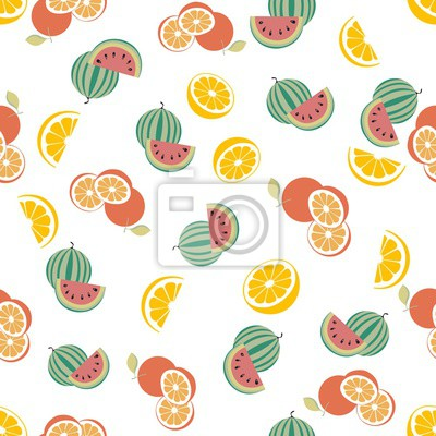 Orange u Watermelon Pattern