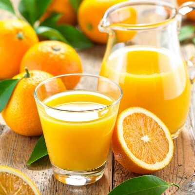 Bild Orangensaft