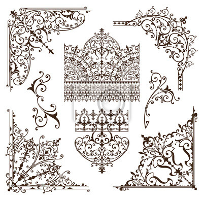 muster orientalische ornamente