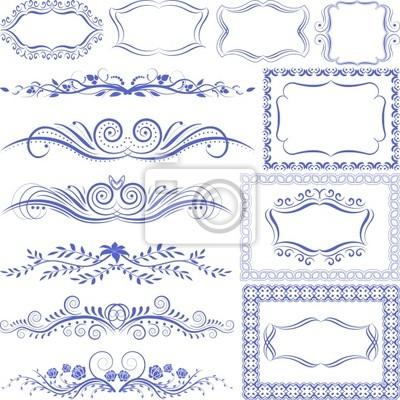 Bild Ornamente-Rahmen